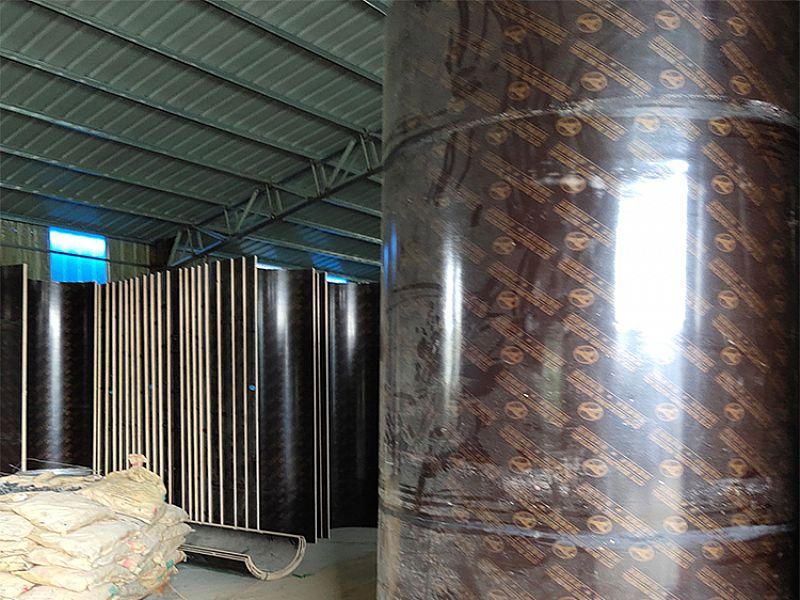 辽宁圆柱模板_建筑圆柱子模板_辽宁木质圆柱模板_圆形模板_定型现货供应价格