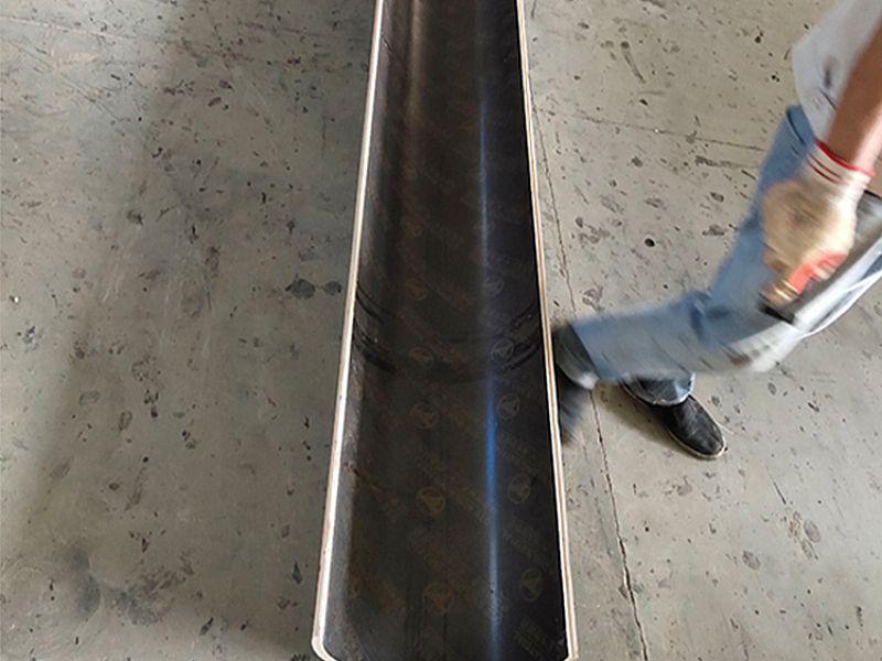辽宁圆弧形模板_建筑弧形模板_辽宁木质弧形模板_圆柱形建筑模板定制阳台弧形