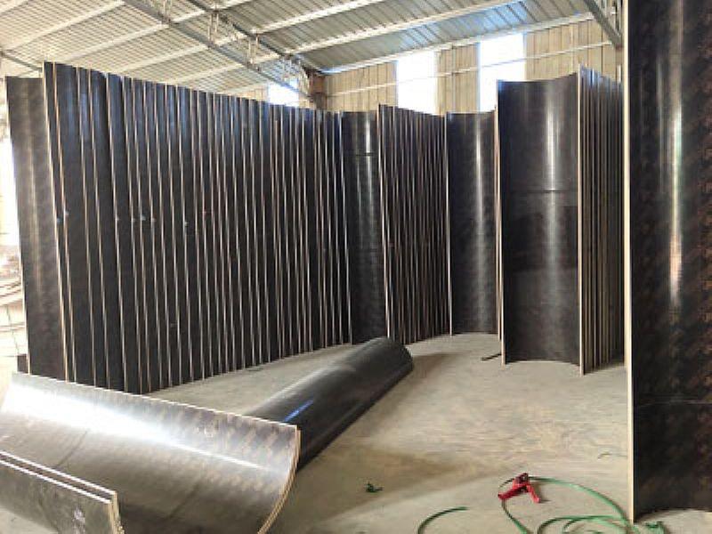 济南寺庙圆柱模板,济南圆柱子模板定制价格