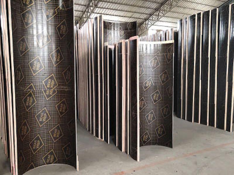 东营圆柱模板,圆柱子木模板定制价格