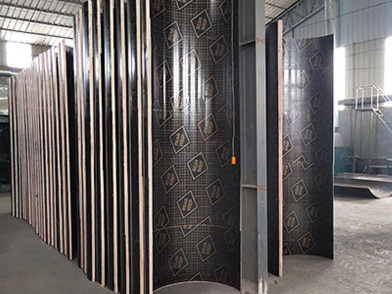 东营圆柱木模板,木质圆柱模板定制价格
